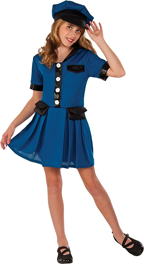 Rubies Costume Blue Police Chief Deluxe Child Costume Small