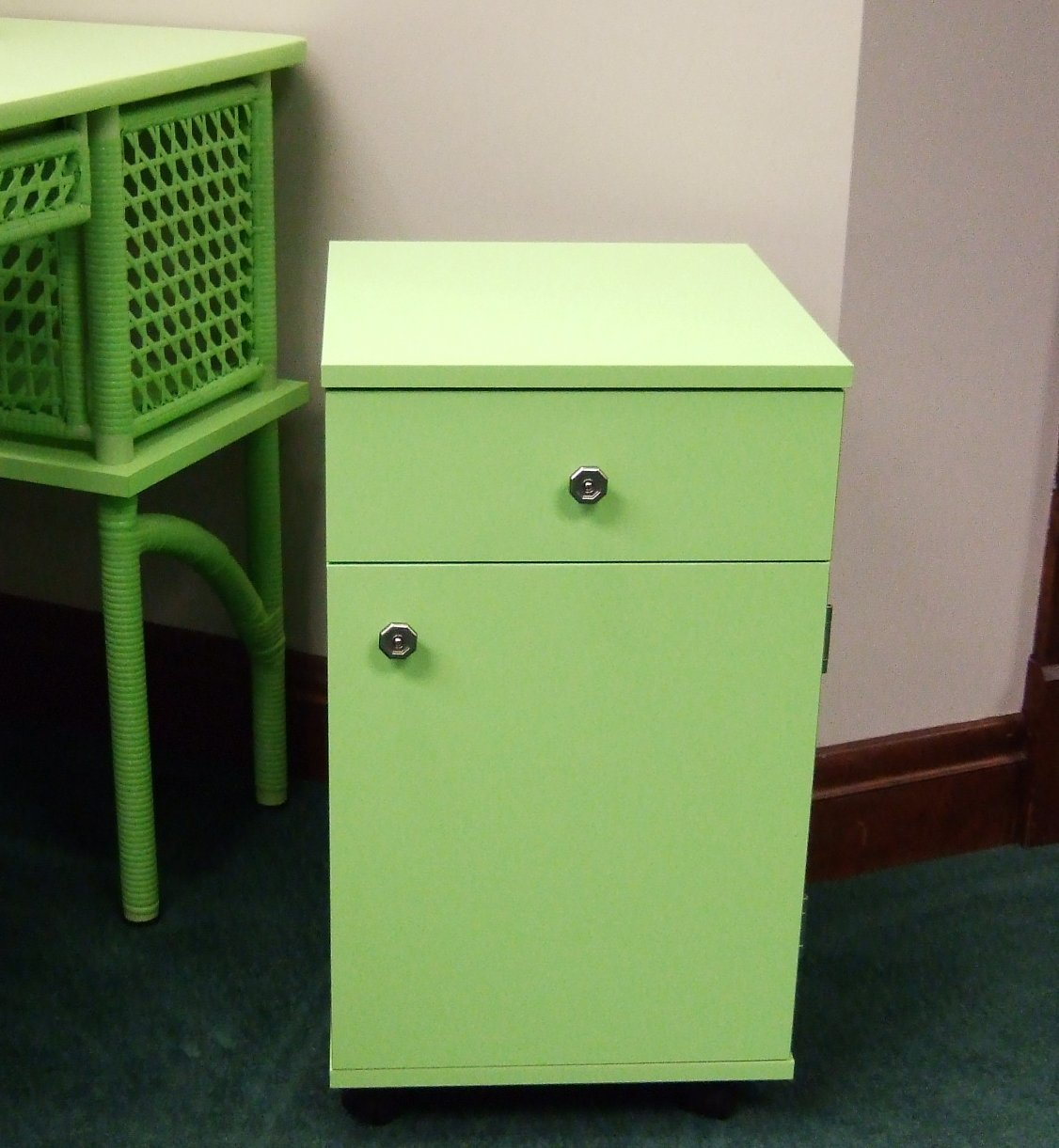 Arrow Sewing Cabinet Suzi Sewing Storage Cabinet with Four Drawer - Green Arrow Sewing Cabinet Suzi