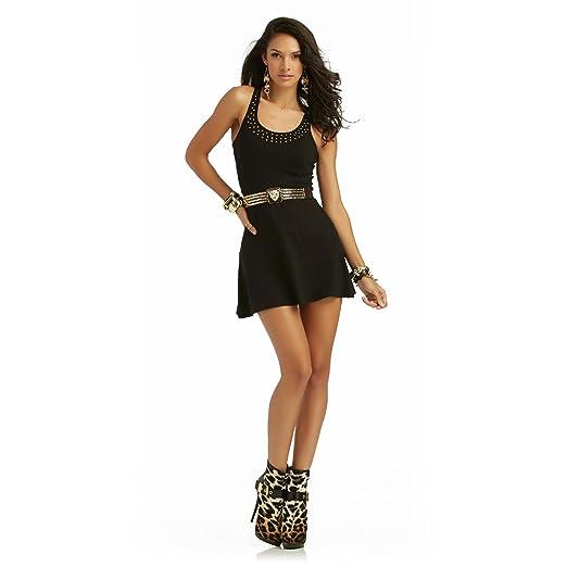 6db1c9df94 Amazon.com  Nicki Minaj Women s Fit   Flare Dress