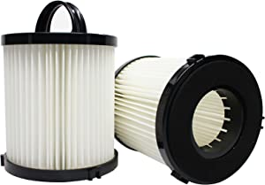 Upstart Battery 2-Pack Replacement for Eureka 3276AZ Vacuum Dust Cup Filter - Compatible with Eureka DCF-21 Filter