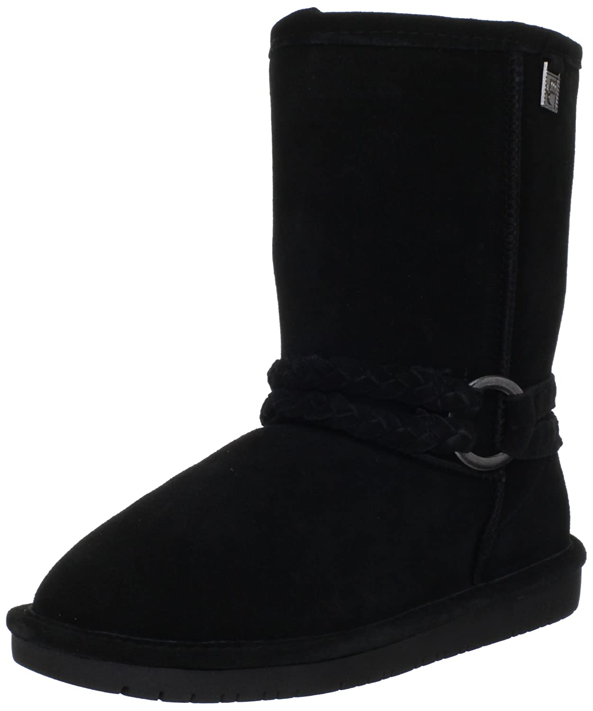 BEARPAW Women's Adele Boots B0073E66JK 6 B(M) US|Black