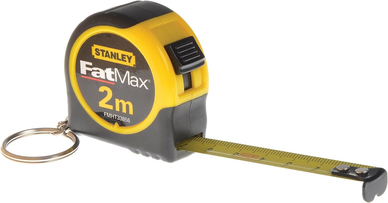 3 Pack Stanley Fat Max FMHT33706W 1//2 X 6 Fatmax Keychain Tape Measure