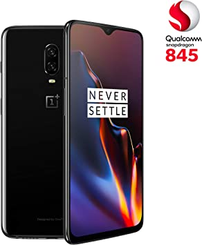 OnePlus 6T - Smartphone 6GB+128GB, Color Negro (Mirror Black ...