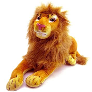 HARDI THRIVE Soft Wild Sitting Animal Lion Soft Small Toy Teddy for Home and Car Birthday Gift to boy or Girl.