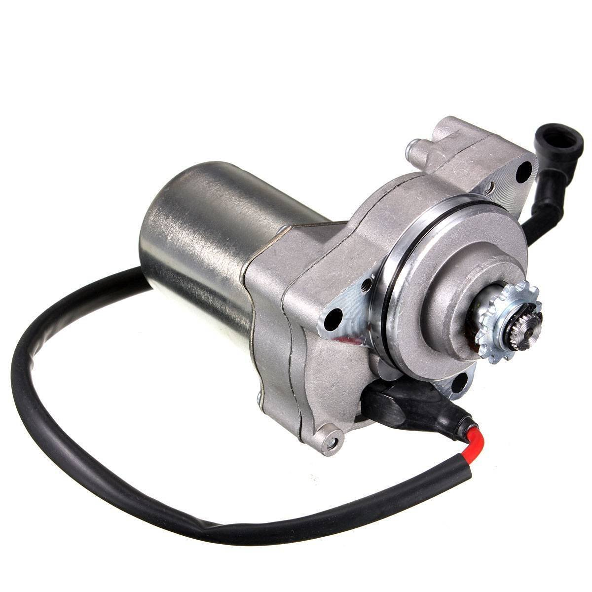 Beehive Filter - 3-Bolt Electric Starter Motor for 50cc, 70cc, 90cc or 110cc 4-Stroke Quad Bikes, ATVs and Pit Bikes