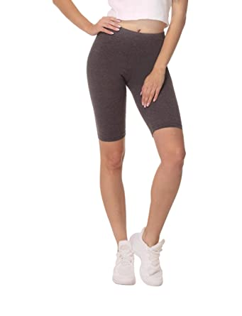 ab96b12544726b BeComfy Dames Cuissard Leggings Courts Coton Shorts de Sport ...