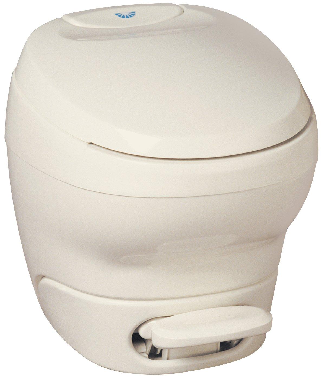 B0006GF65M Aqua-Magic Bravura RV Toilet / High Profile / Parchment - Thetford 31085 71vhTYy%2BrDL