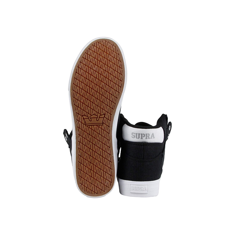 Supra Vaider Skate 10.5 Shoe B07FFGYZLK 10.5 Skate M US Black/Silver-white 6dcac5
