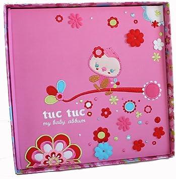 Amazon.com: Tuc Tuc diario de fotos de bebé. 10 x 10