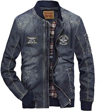 メンズコート・ジャケット-メンズプラスフリースデニムジャケットジャケット厚手ウォームトップ