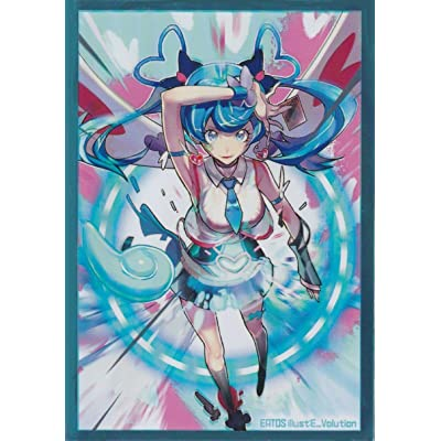 (60) YUGIOH Holographic Card Protectors Zaizen Aoi (BlueAngel) Card Sleeves 62x89 mm 60 Pcs: Toys & Games