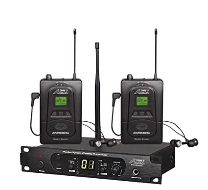 09a27b35d97 Amazon.com  Audio2000 S In-Ear Audio Monitor System AWM6305U  Musical  Instruments