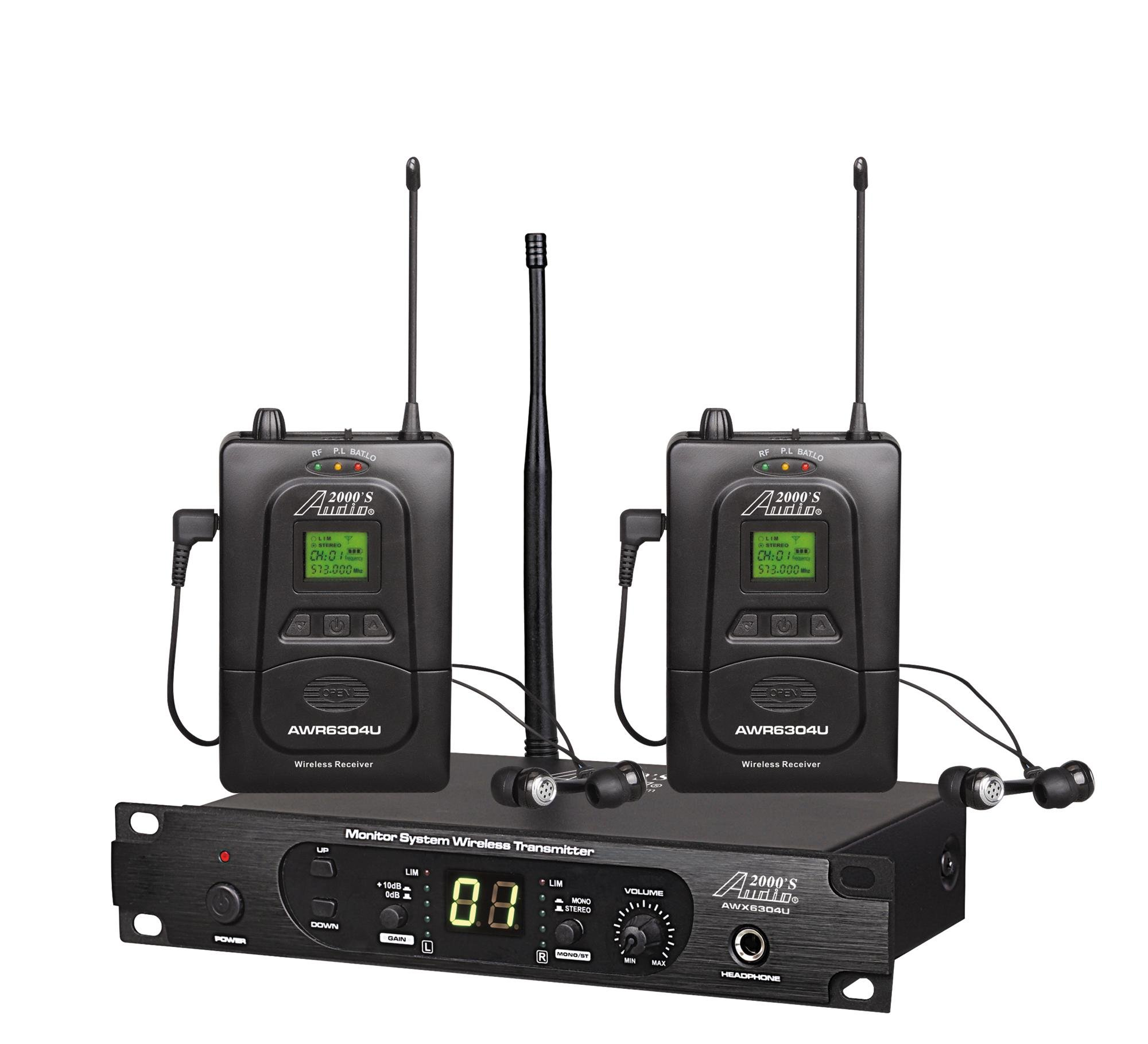 Audio2000'S In- In-Ear Audio Monitor System (AWM6305U)