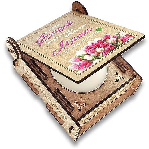 CANDLE in the BOX Caja de Regalo con Mensaje & Vela | Regalo ...
