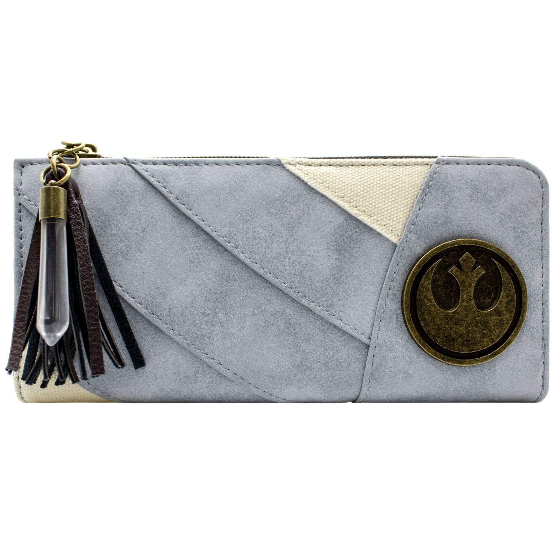 Star Wars Rey's Tenue avec des charmes Bleu Portefeuille