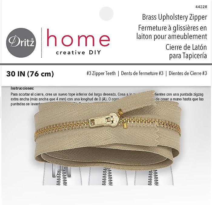Top 10 Dritz Home Brass Zipper Chain