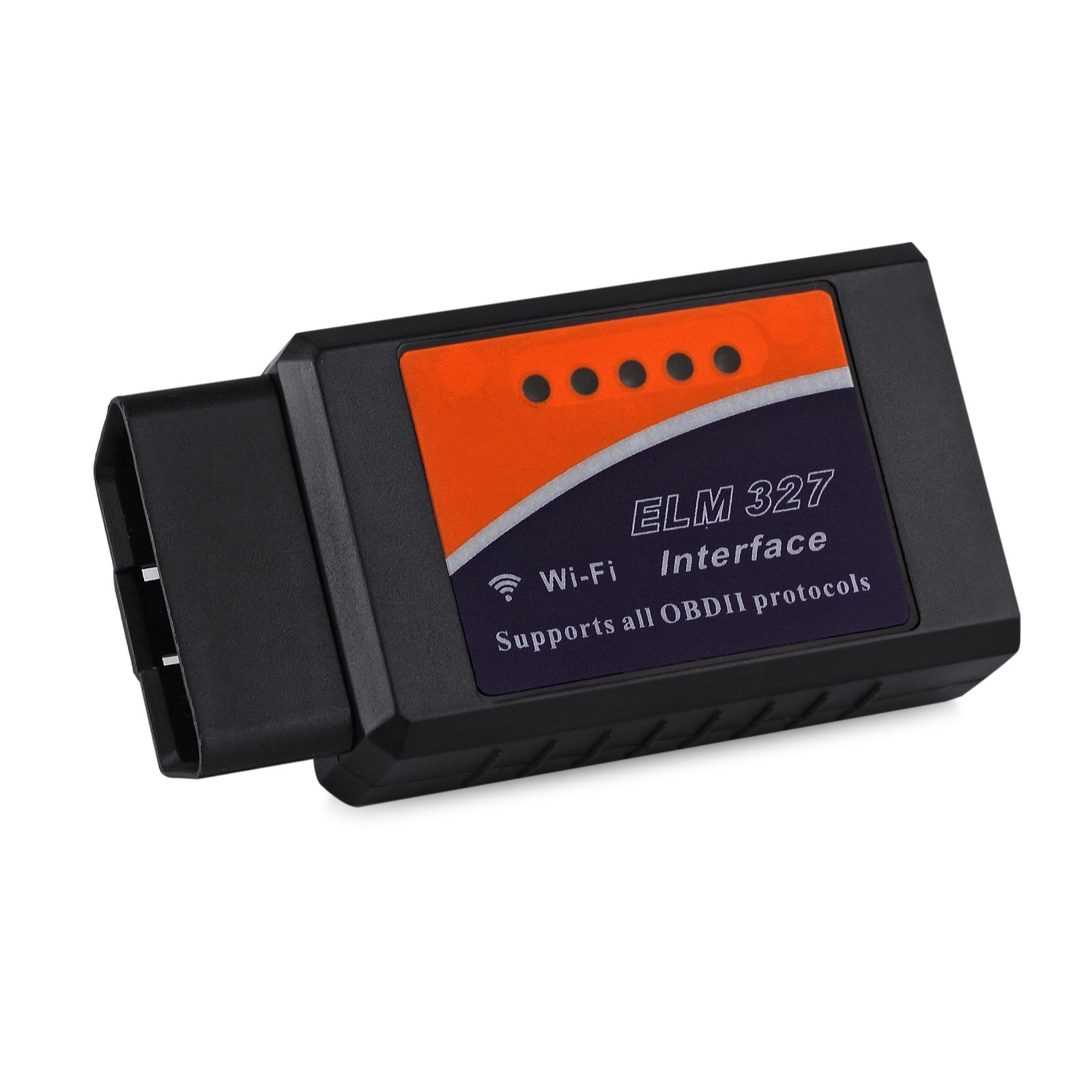 LiNKFOR Car WIFI OBD 2 OBD2 OBDII Scan Tool Scanner Adapter Check Engine Light Diagnostic Tool for iOS & Android