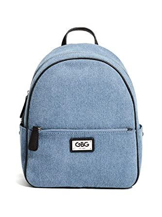 808b07daccef Amazon.com  G by GUESS Women s Cazelle Denim Mini Backpack  Clothing