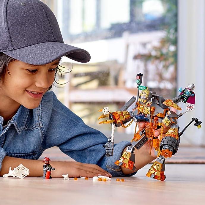 LEGO 乐高 76128 漫威蜘蛛侠系列 融火人之战 积木玩具 8折$23.99 海淘转运到手约¥200