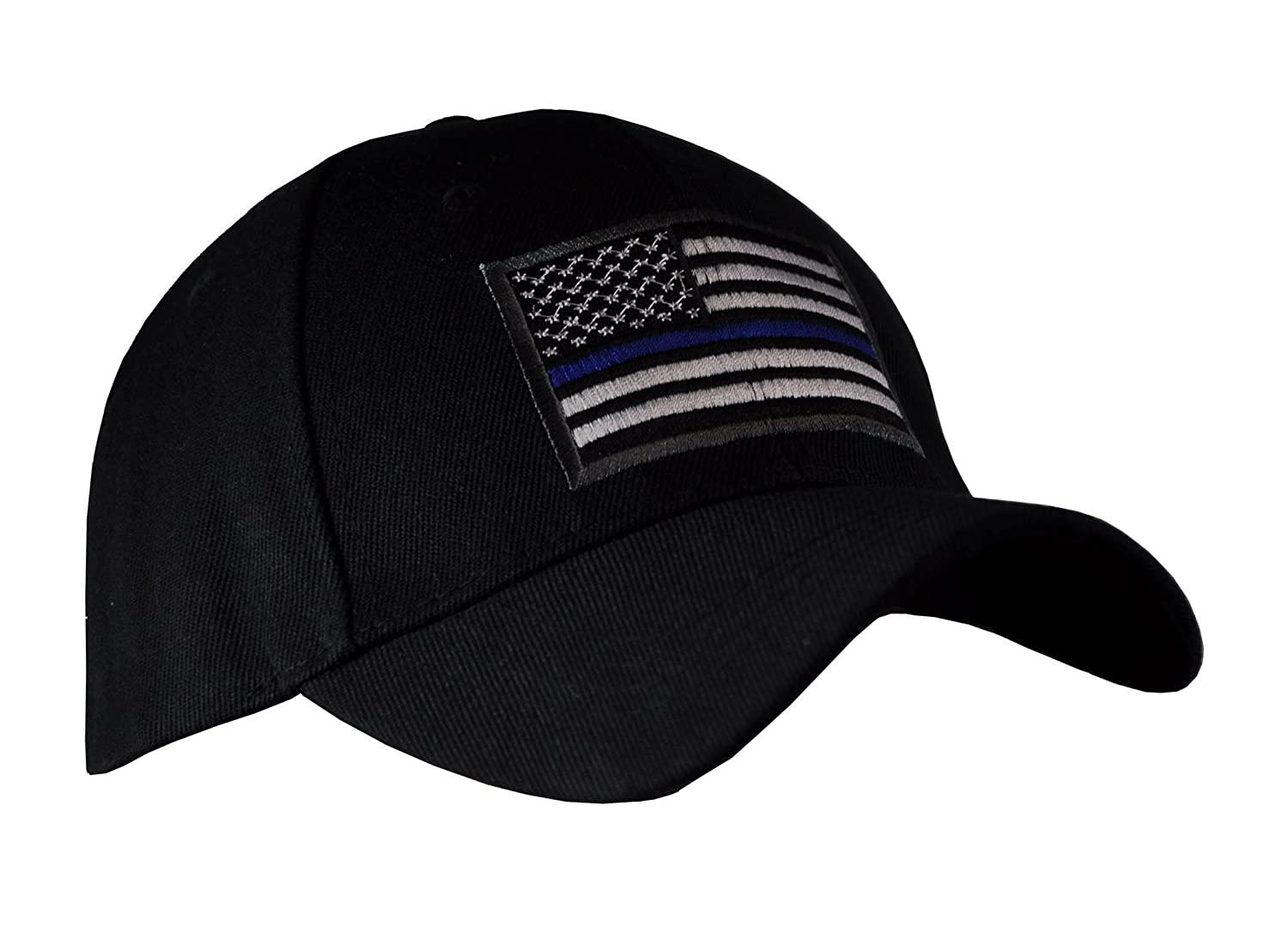 3cef3c199f8b7 Amazon.com   US Army American Flag Embroidered Operator Military Baseball  Hat Cap (Black)   Sports   Outdoors