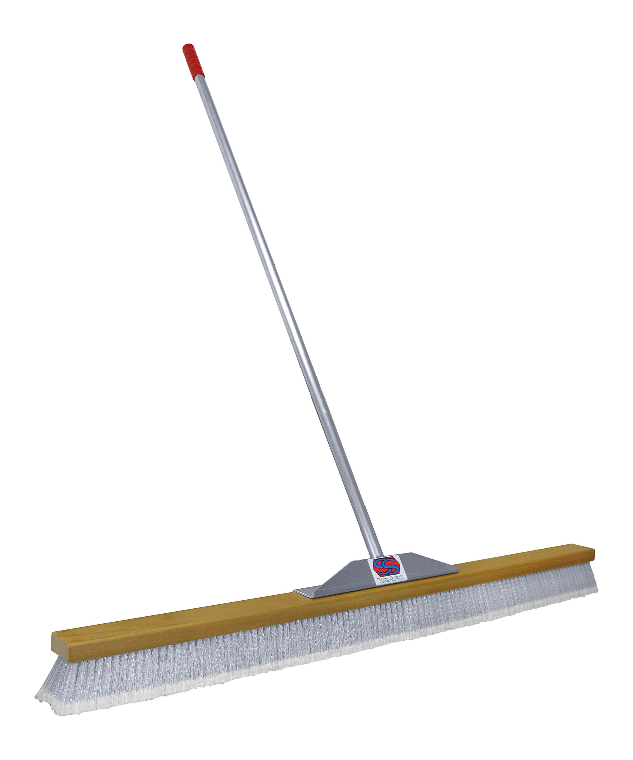 Super Sweep 48-Inch Gray Flagged Broom by Super Sweep