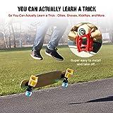 Luxuglow Skateboard Training, White Rubber