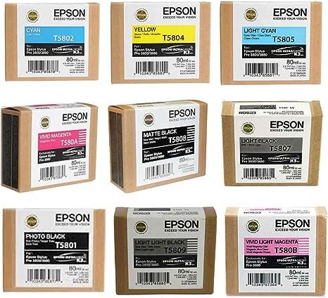 Amazon.com: Epson Set Completo de cartucho de tinta para ...