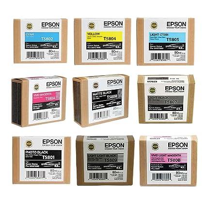 Epson - Completo de palos de juego de cartuchos de tinta para ...