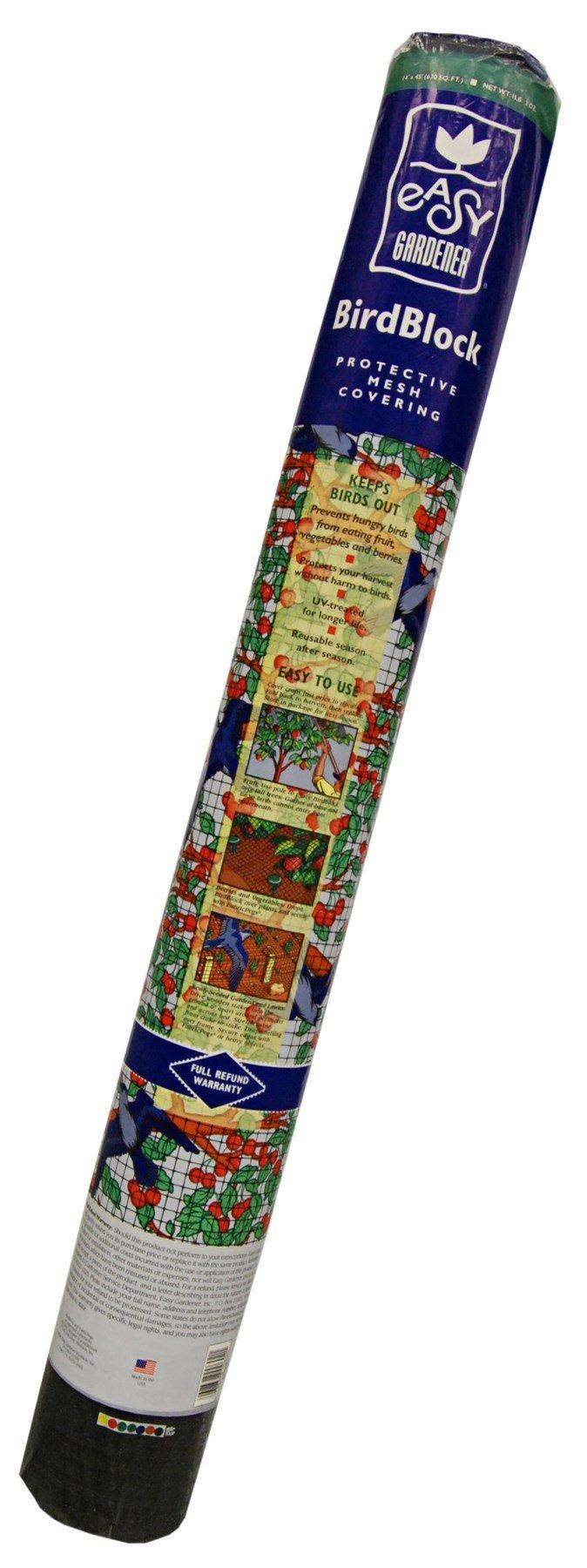 Easy Gardener 602 14' x 45' Bird X Protective Netting For Fruits & Vegetables by Easy Gardener