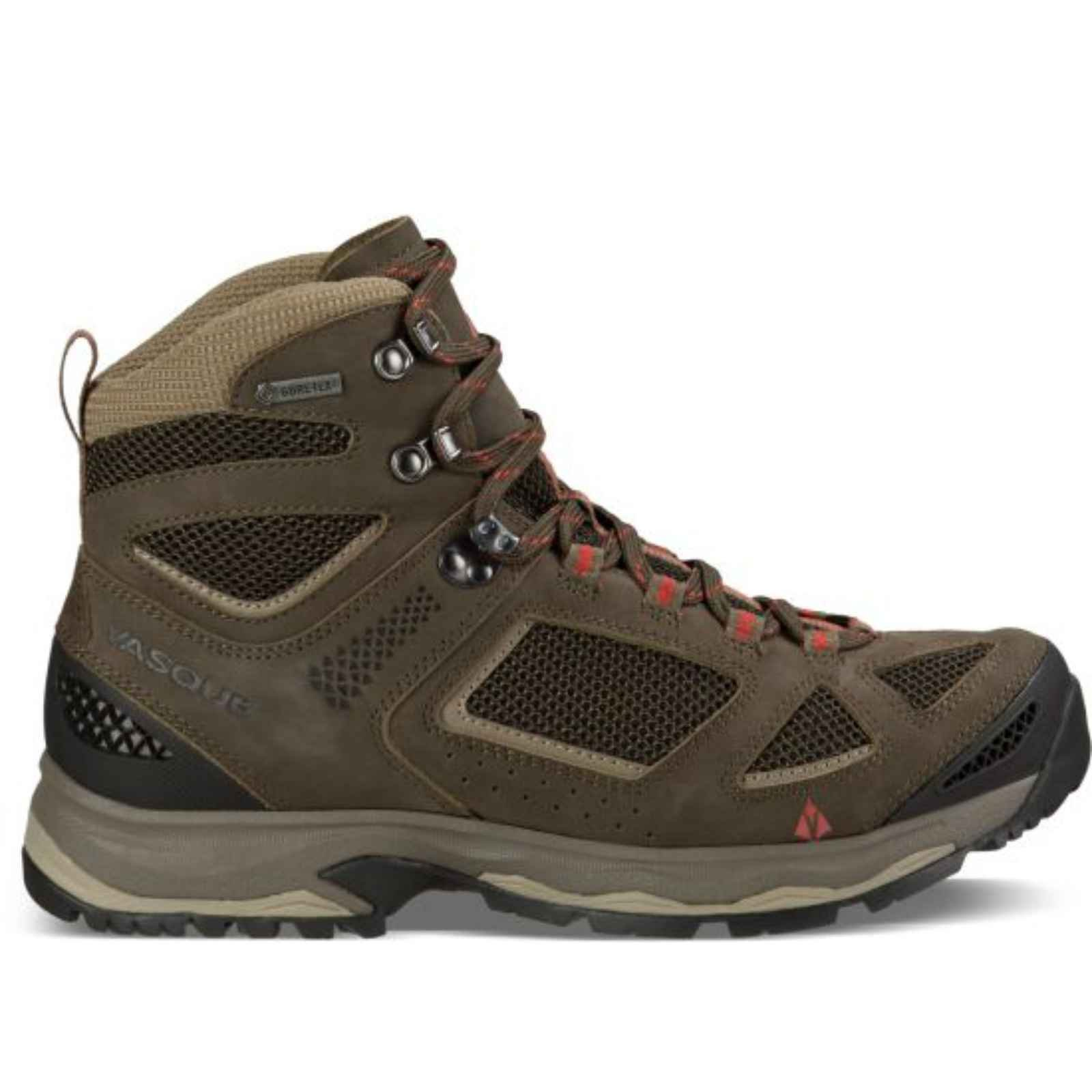 Vasque Breeze III GTX Boot - Mens Brown Olive / Bungee Cord 10
