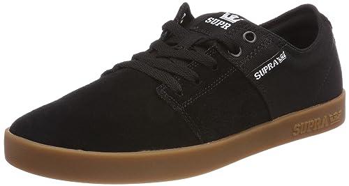 Supra Stacks II, Zapatillas para Hombre, Negro (Black-Gum), 44 EU