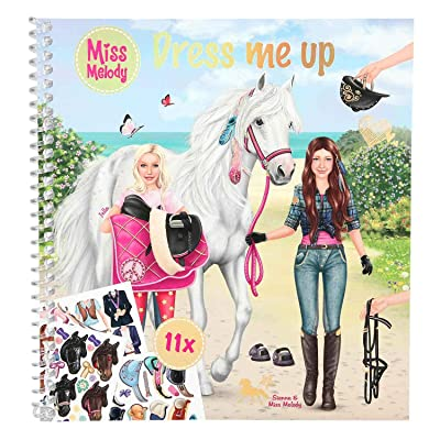 Depesche 10299 para Colorear Dress Me Up Miss Melody: Juguetes y juegos
