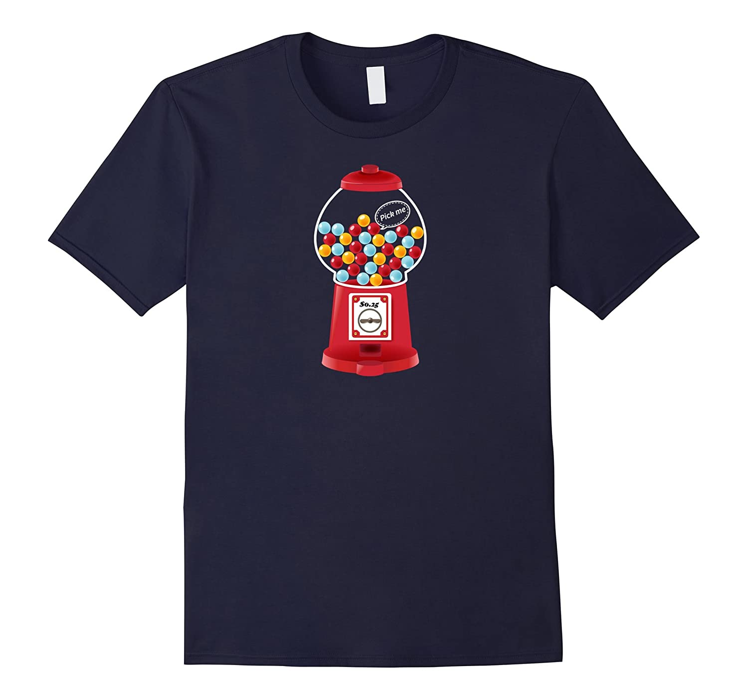 Candy Collection Gum Gumball Colors Pick Me Tee-FL