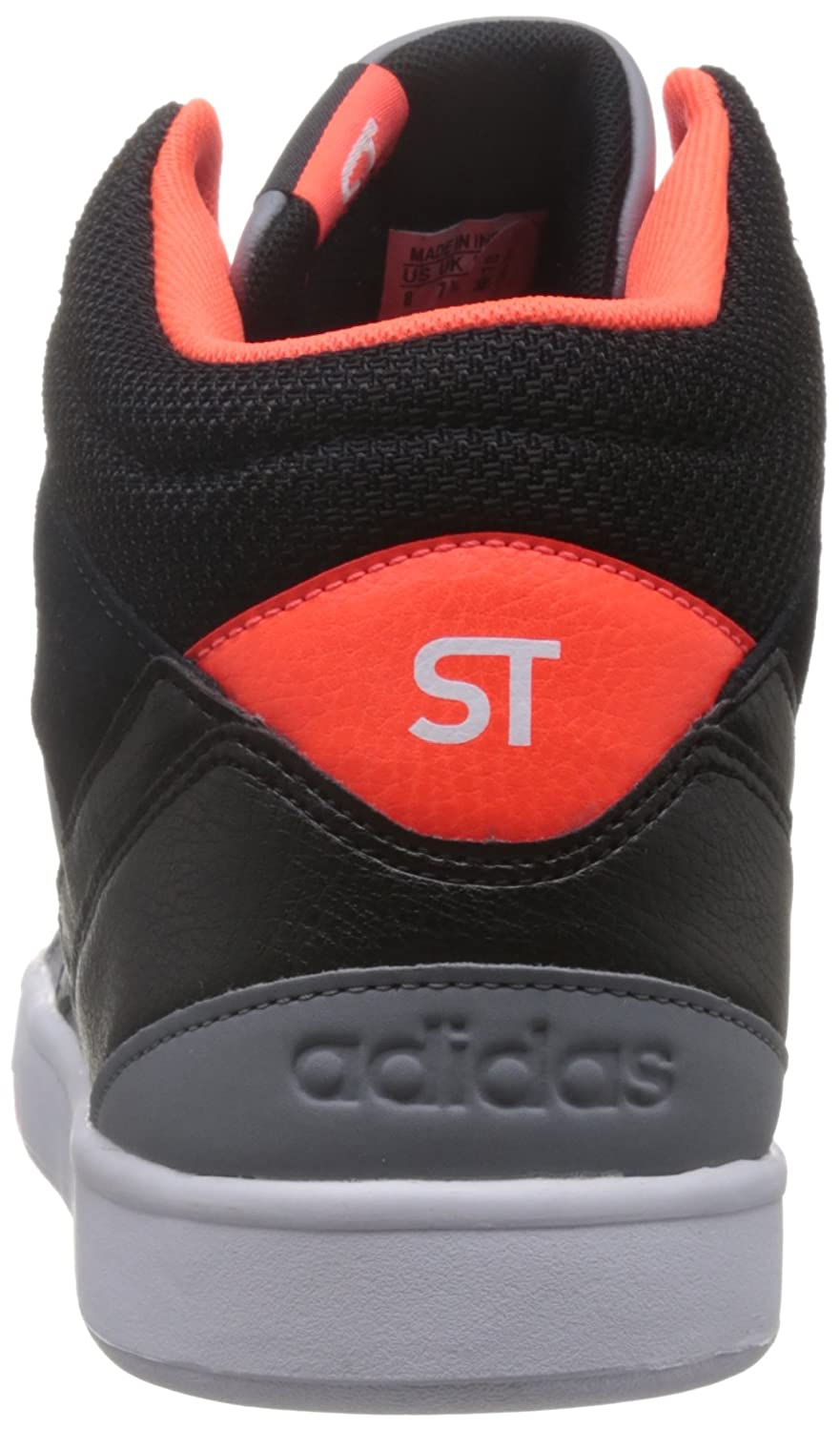 new product b92e7 660a9 ... various styles adidas neo Men s Park St Kflip Mid Grey, Cblack and  Solred Sneakers ...