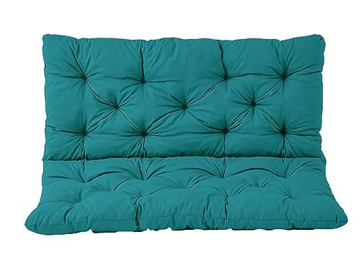 Ambientehome/ Circa 50/x 98/x 8/cm /Set di 2/Cuscini Seduta e Schienale per Sedia Hanko Imbottito
