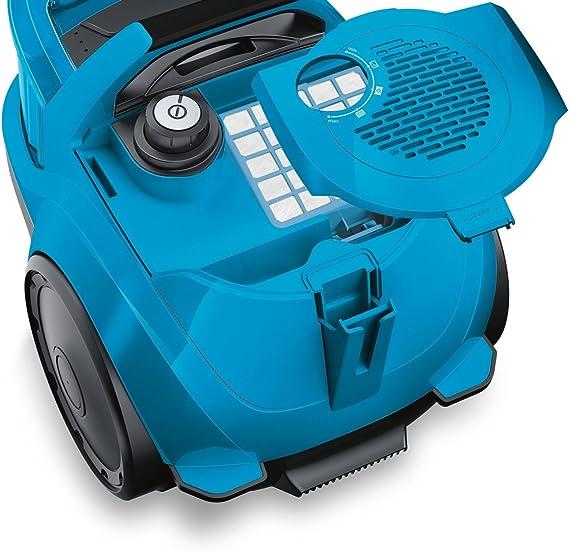 Bosch GS10 700 W - Aspiradora (700 W, 28 kWh, 10 A, Aspiradora cilíndrica, Bolsa para el polvo, 1,4 L): Amazon.es: Hogar