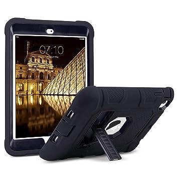 ULAK iPad Mini Caso, iPad Mini 2 / Mini 3 Funda Carcasa - 3en1 Híbrido Resistente a Prueba de Golpes Kickstand Robusto Caso para iPad Mini 1 / iPad ...