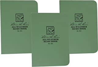 product image for Rite in the Rain 954 Green Tactical Memo Field-Flex 5-Inch by 3 1/2-Inch, 3-Pack