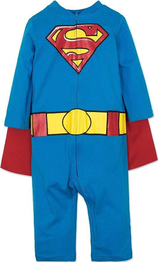 Warner Bros. DC Comics Body de Supermán con Capa Divertido Disfraz ...