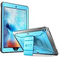 SUPCASE iPad9.7 Case 2018/2017,HeavyDuty[UnicornBeetlePROSeries]Full-bodyRuggedProtectiveCasewithBuilt-inScreenProtector&DualLayerDesignforAppleiPad9.7inch2017/2018 (Blue)