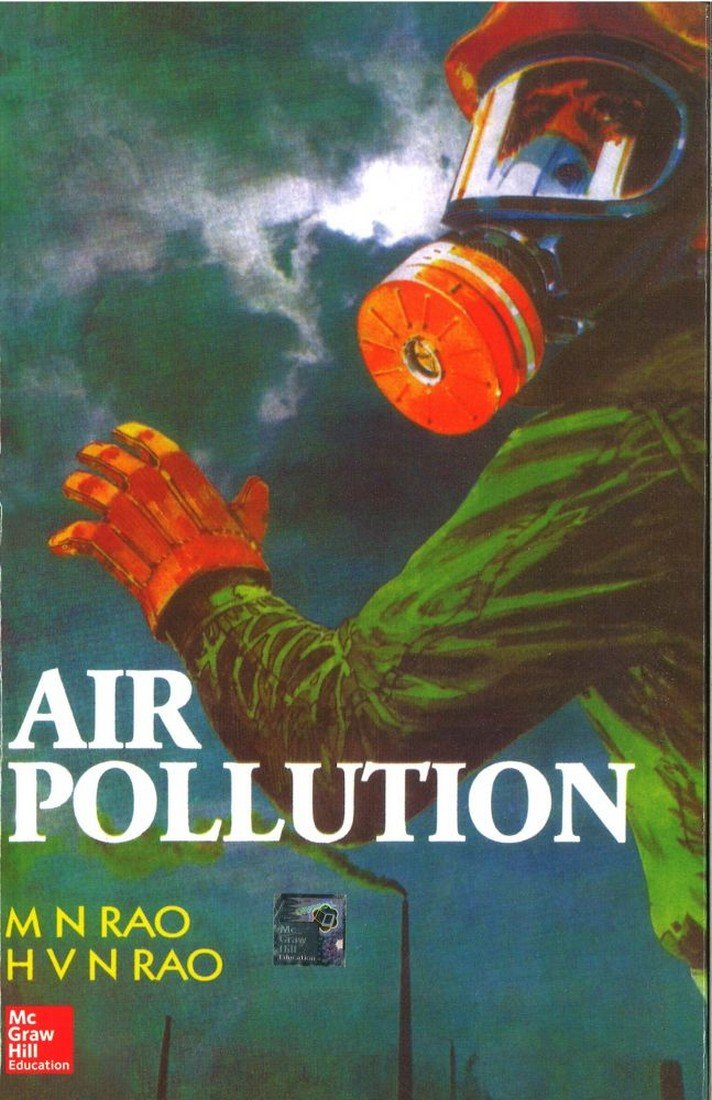 Air Pollution By Mn Rao Pdf