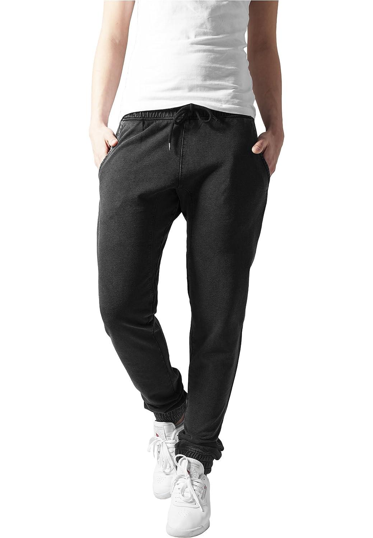 Ladies Acid Wash Jogging Pants Urban Classics Streetwear Pantalón ...