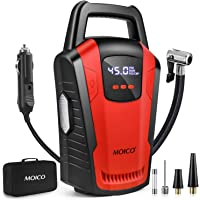 $35 » MOICO Portable Air Compressor Pump, 12V DC Car Tire Inflator with Digital Pressure Gauge,120 PSI…