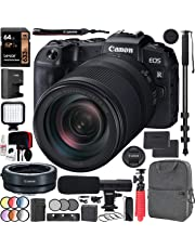 $1549 » Canon EOS RP Full-Frame Mirrorless Digital Camera Body with RF 24-240mm F4-6.3 IS USM Lens Kit with Mount Adapter EF-EOS R + Deco Gear Photo Video Backpack Case Extra Battery Microphone Monopod Bundle