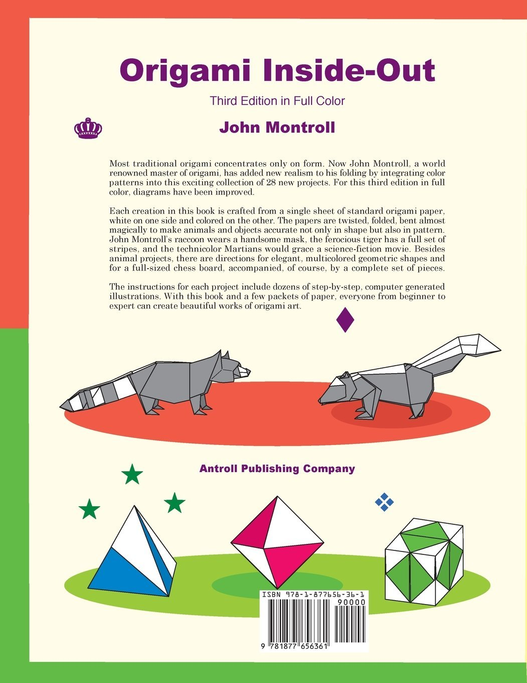 Origami Inside Out John Montroll 9781877656361 Books Science Fiction Diagrams