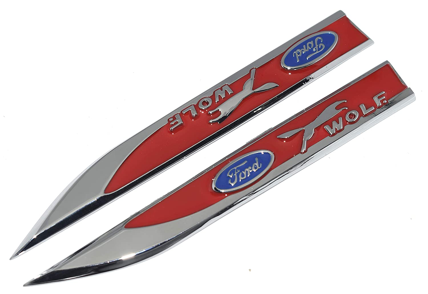HINTER The Red ST Metal Sticker Vehicle-logo Badge Emblem for Focus Ford Available