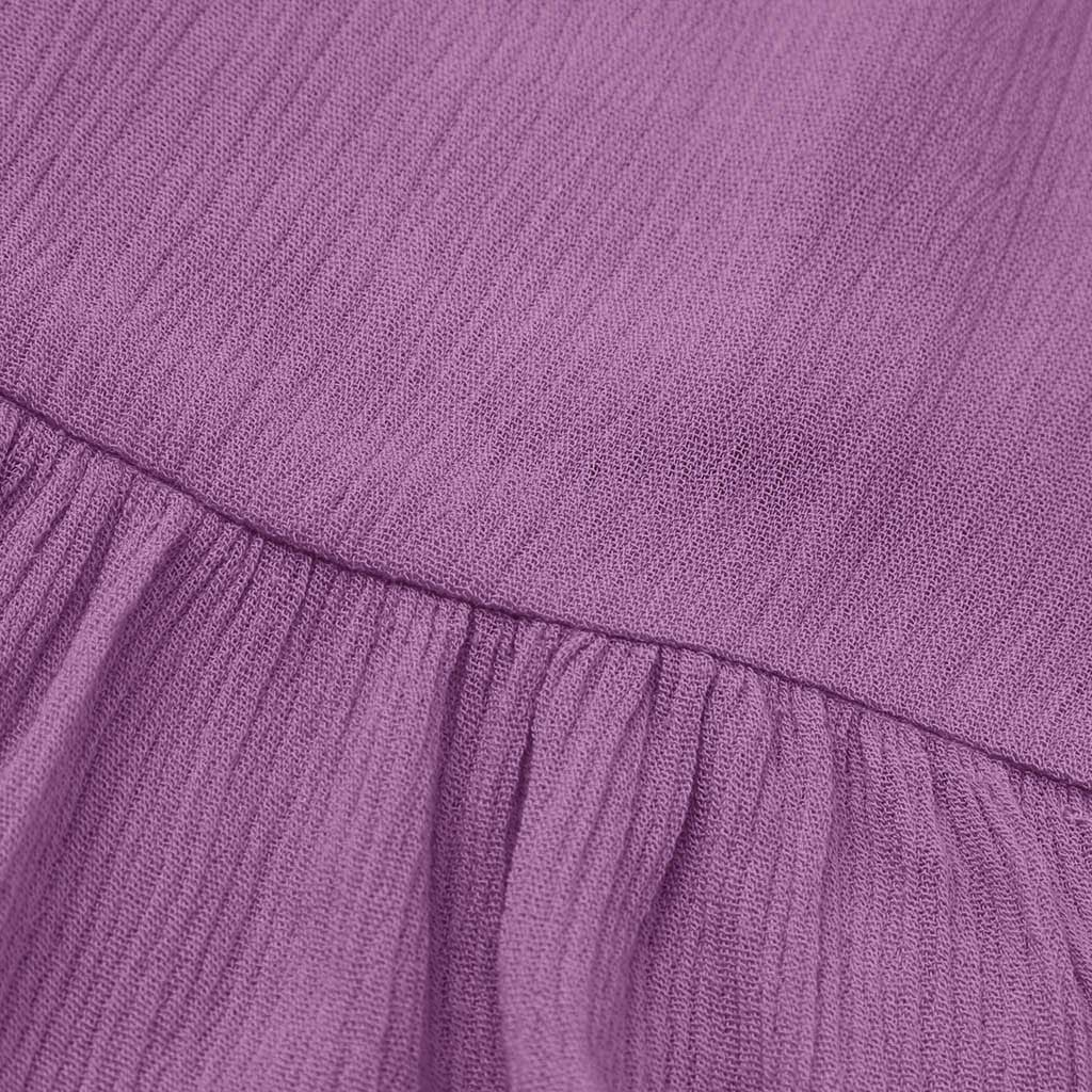 EnjoCho Cute Baby Girls Summer Sundress Short Mini Vest Dress Toddler Kids Cotton Casual Dresses Age:18-24 Months, Purple
