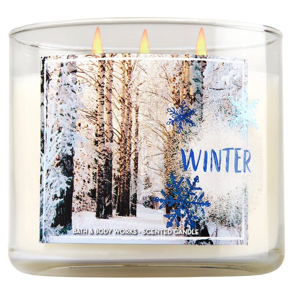 Bath Body Works 3 Wick Winter Scented Candle Amazoncouk