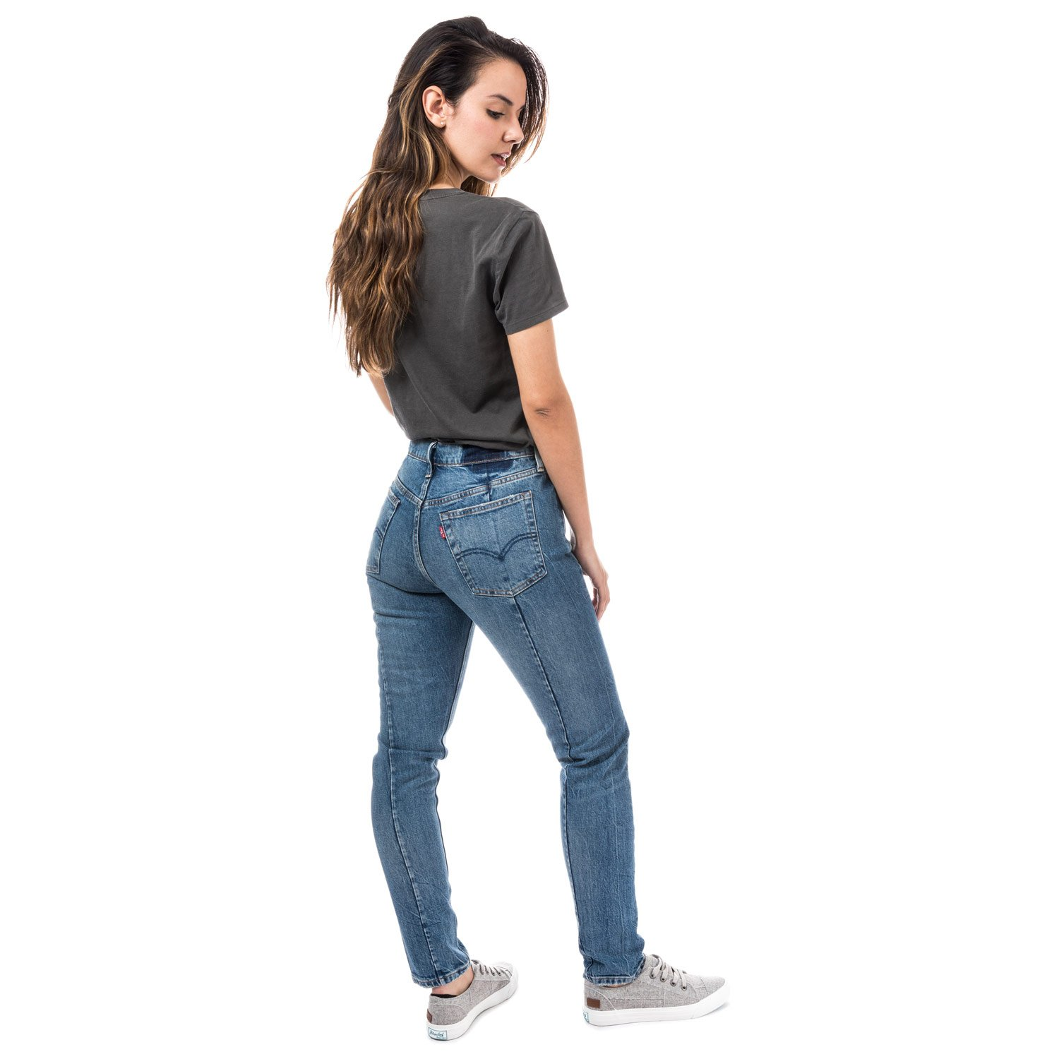 bd666f78 Levi's Womens Womens 501 Skinny Altered Moody Blues Jeans in Denim - 29S:  Levis: Amazon.co.uk: Clothing