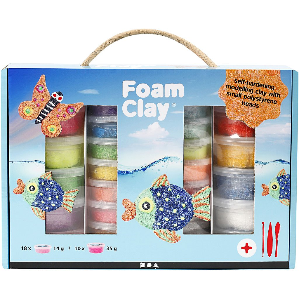 Foam Clay® Set , sortierte Farben, 1Set Foam Clay® Set